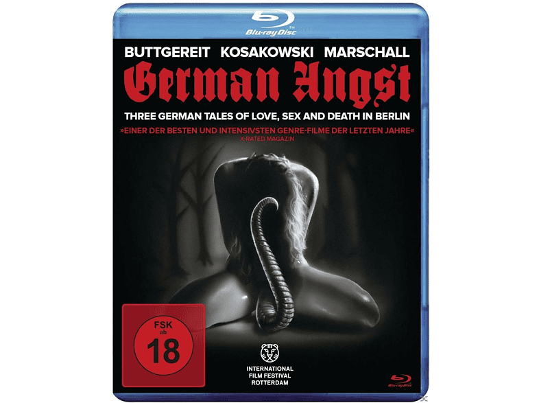German Angst (Uncut) [Blu-ray]