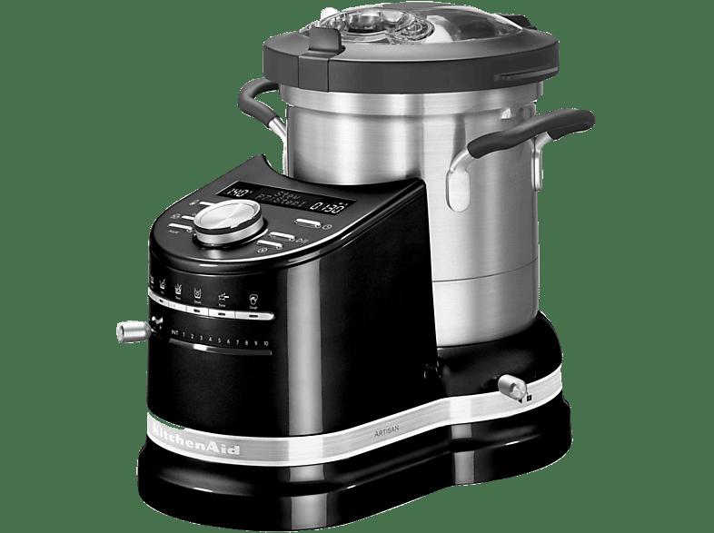 KITCHENAID 5KCF0103EOB/4 Artisan Küchenmaschine mit Kochfunktion,  Onyxschwarz
