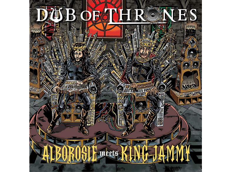 Alborosie Meets King Jammy - Dub Of Thrones [CD]