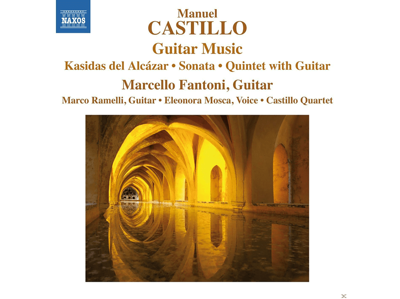 Marcello Fantoni, Castillo Quartett - Gitarrenmusik [CD]