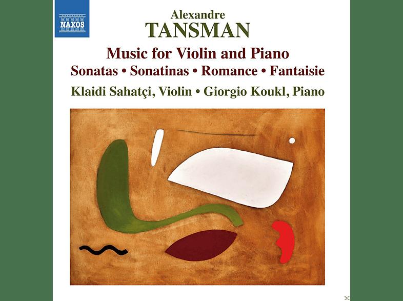Klaidi Sahatci, Giorgio Koukl - Musik Für Violine Und Klavier [CD]