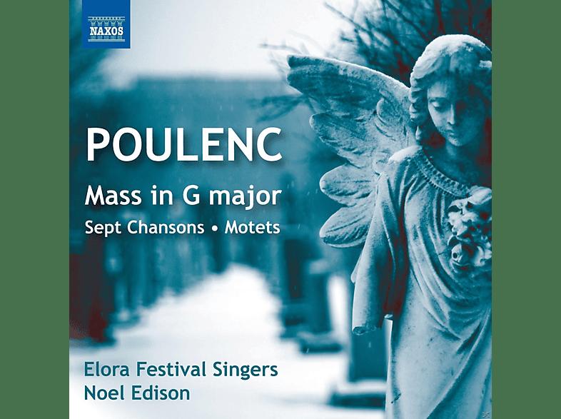 Elora Festival Singers - Messe In G/Sept Chansons/Motetten [CD]