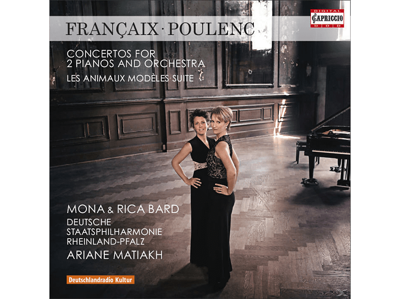 Mona & Rica Bard - Konzerte Für 2 Klaviere Und Orchester [CD]