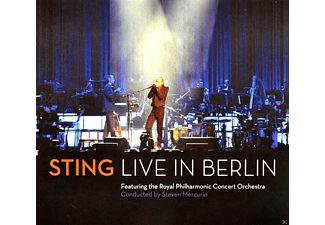 Sting, Royal Philharmonic Concert Orchestra - Sting - Sting Live In Berlin - (CD + DVD Video)