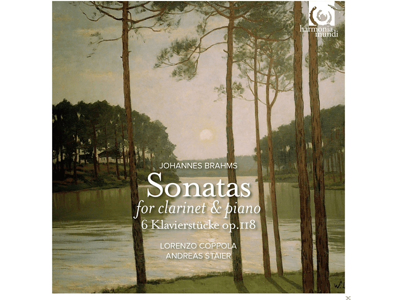 Lorenzo Coppola, Andreas Staier - Brahms: Sonatas For Clarinet And Piano Op. 120 [CD]