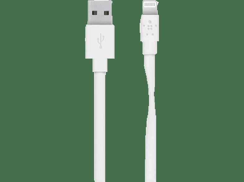 BELKIN Câble Lightning - USB MIXIT Flat blanc (F8J148BT04-WHT)