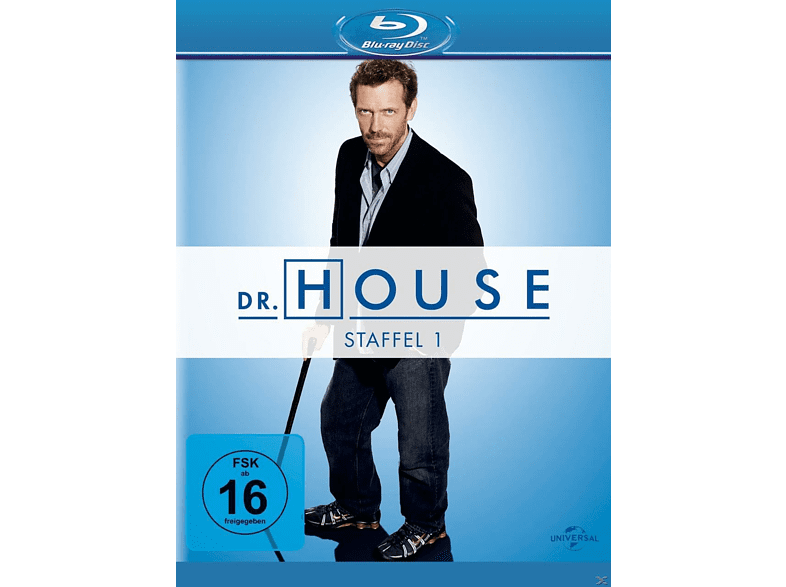 Dr. House - Staffel 1 [Blu-ray]