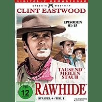 Rawhide - Tausend Meilen Staub - Staffel 4.1 [DVD]
