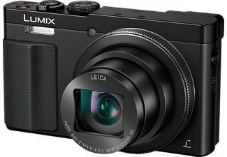 PANASONIC Compact camera Lumix DMC-TZ70 + SD 8 GB + Etui (DMC-TZ70EG-K)
