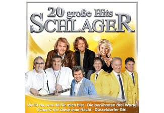 VARIOUS - 20 große Hits Schlager - (CD)
