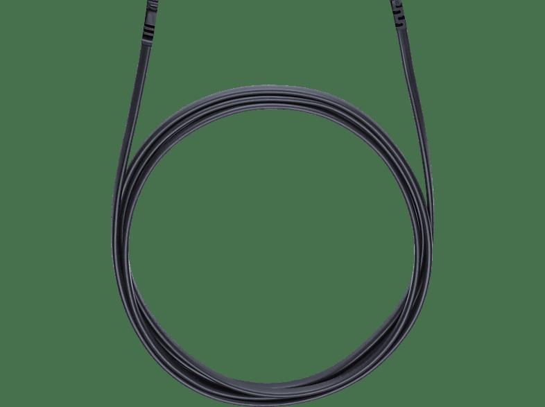 OEHLBACH Netzkabel mit Euro-Flachstecker Powercord C 7 500 Netzkabel, Schwarz