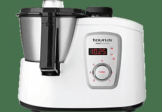 Robot de cocina - Taurus Robot Cuisine Potencia 1600W 3 Velocidades y control de temperatura