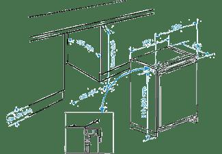 BEKO BU1152HCA Kühlschrank (175 kWh/Jahr, 820 mm hoch, Weiß)
