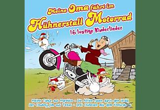 Die Partykids - Meine Oma fährt im Hühnerstall Motorrad-16 lustig  - (CD)