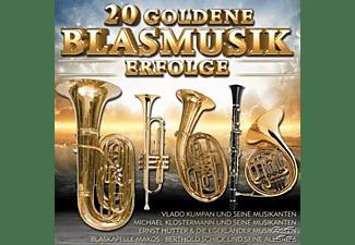 VARIOUS - 20 Goldene Blasmusik Erfolge  - (CD)