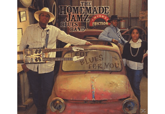 The Homemade Jamz Blues Band - I got Blues for you  - (CD)