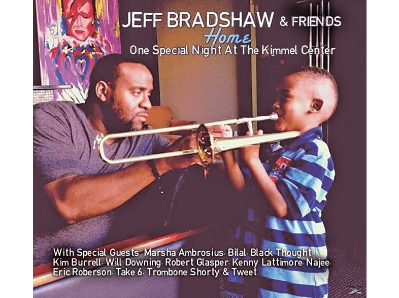 Jeff Bradshaw - Home-One Special Night At The Kimmel Center [CD]