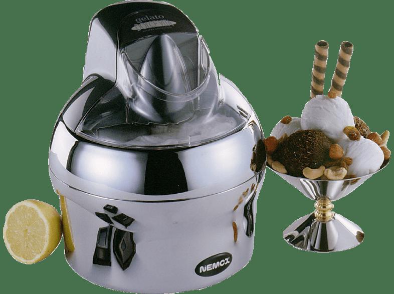 NEMOX 0034300278 Dolce Vita L.1,1 Eismaschine (15 Watt, Silber)