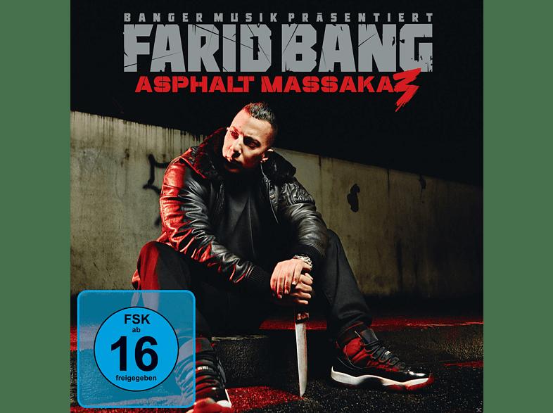 Farid Bang - Asphalt Massaka 3 [CD + DVD Video]