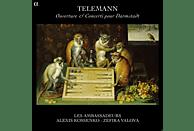 Zefira Valova, Les Ambassadeurs - Telemann: Ouverture & Concerti Pour Darmstadt [CD]
