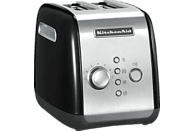 KITCHENAID 5KMT221EOB Toaster Onyxschwarz (1100 Watt, Schlitze: 2)