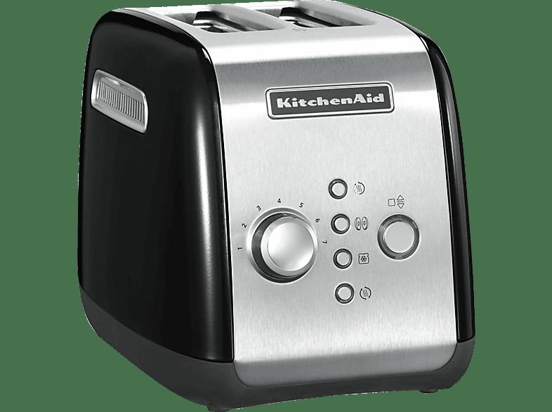 KITCHENAID 5KMT221EOB Toaster Onyxschwarz 1100 Watt, Schlitze 2