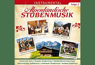 VARIOUS - Alpenländische Stubenmusik (Folge 2)  - (CD)