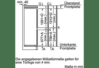 BOSCH KIV86VS30 Kühlgefrierkombination (A++, 231 kWh/Jahr, 1772 mm hoch, Weiß)