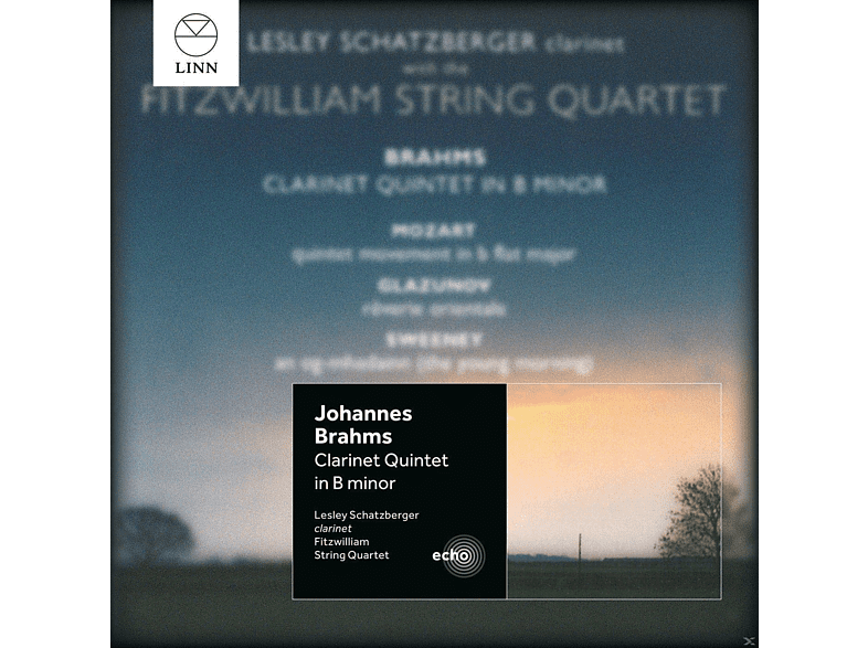 Lesley Schatzberger, Fritzwilliam String Quartet - Klarinettenquintett/+ [CD]
