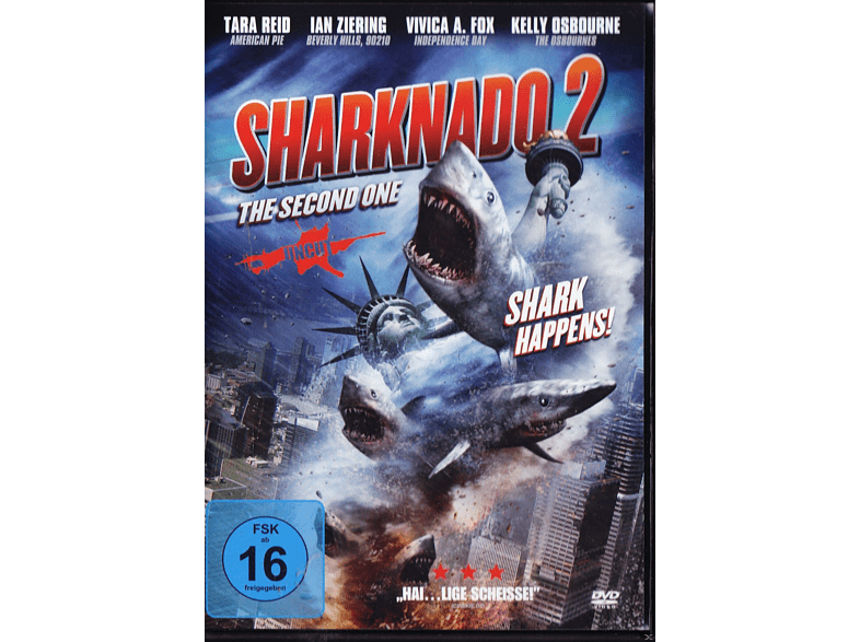 Sharknado 2 - The Second One [DVD]