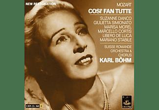 DANCO, SIMIONATO, MOREL, ., SUISSE - Cosi fan tutte  - (CD)