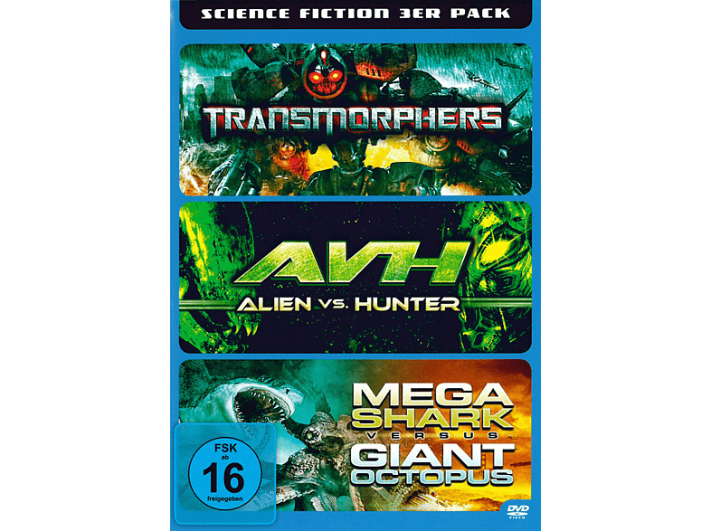 Science Fiction 3 in 1 [DVD]