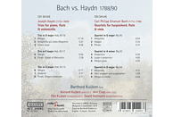 Piet Kuijken, Barthold Kuijken, Wieland Kuijken, Ann Cnop, Ewald Demeyere - Bach Vs. Haydn-Trios Hob Xv: 15-17/Quart.Wq  93 [CD]
