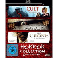Cult, Saturday Morning Massacre, The Crone - Horror Collection [Blu-ray]