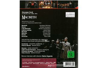 Altomare/Giuseppini/Theodossiou/Sabbatini/+ - Macbeth  - (Blu-ray)