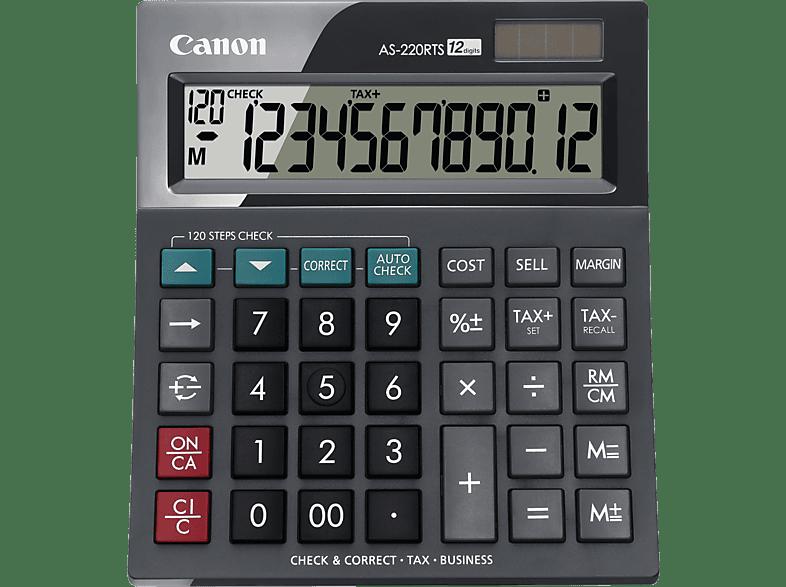CANON AS 220 RTS Taschenrechner