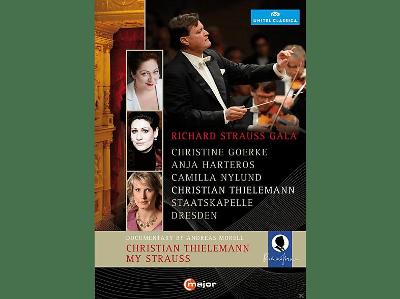 Goerke/Harteros/Nylund/Thielemann/Sd - Galakonzert/Dokumentation [DVD]
