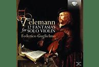 Federico Guglielmo - 12 Fantasias For Violin Solo [CD]