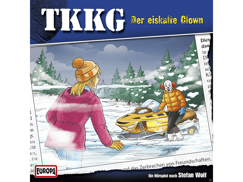Tkkg - 190/Der Eiskalte Clown - (CD)