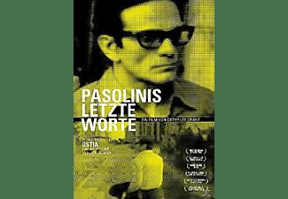Pasolinis letzten Worte DVD