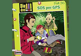 Die Drei ??? - Die drei !!! 36: SOS per GPS  - (CD)