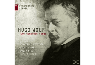 Katherine  Broderick, VARIOUS - Hugo Wolf-The Complete Songs Vol.8  - (CD)