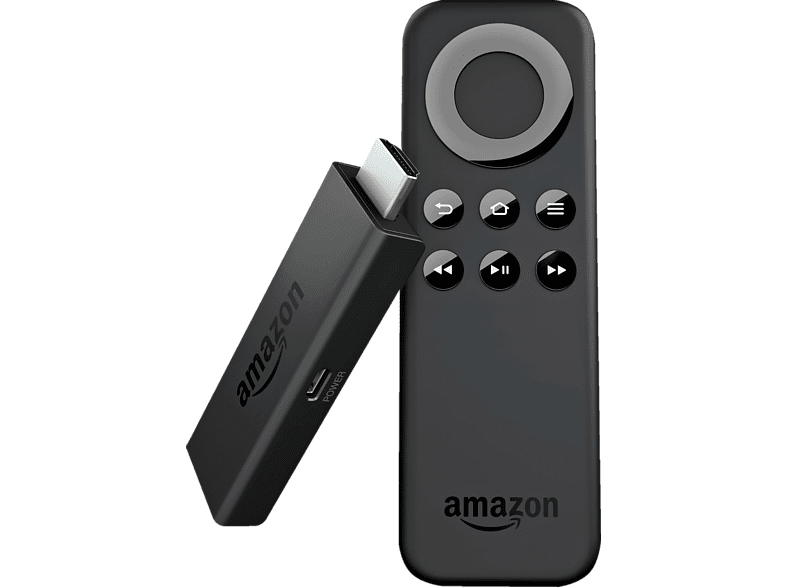KINDLE Fire TV Stick Multimediaplayer, Schwarz