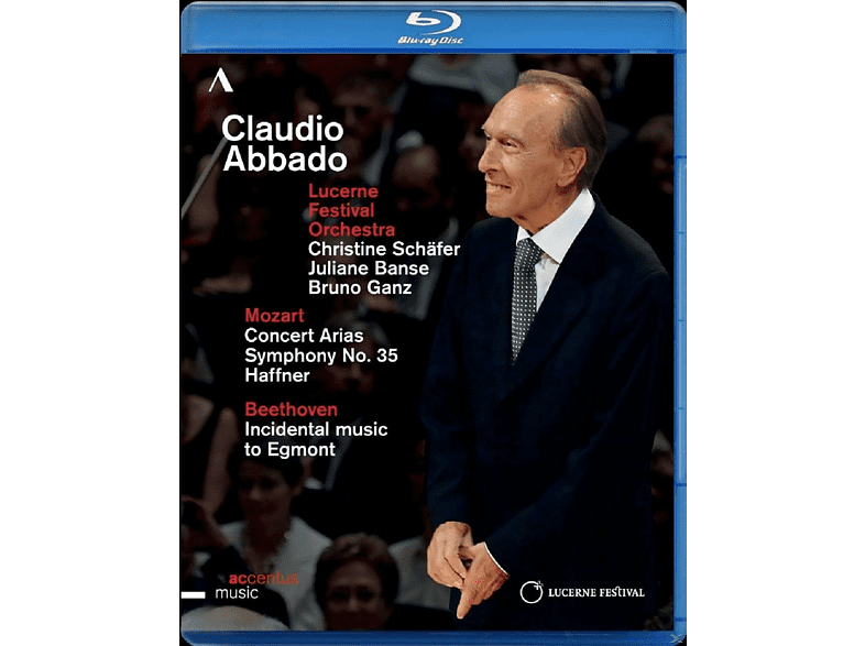 Lucerne Festival Orchestra - Claudio Abbado-Sinfonie 35, ... [Blu-ray]