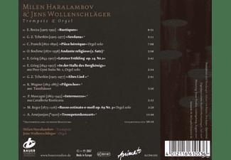 Jens Wollenschlaeger Milen Haralambov (trompete), Milen/jens Wollenschlaeger Haralambov - Trompete & Orgel  - (CD)