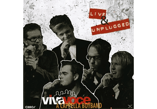 A Cappella Boyband, Viva Voce Die A Cappella Band - Live & Unplugged  - (CD)