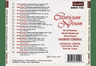 Seal/Halls/Salisbury Cathedral - Canticum Novum Chor+Orgel  - (CD)