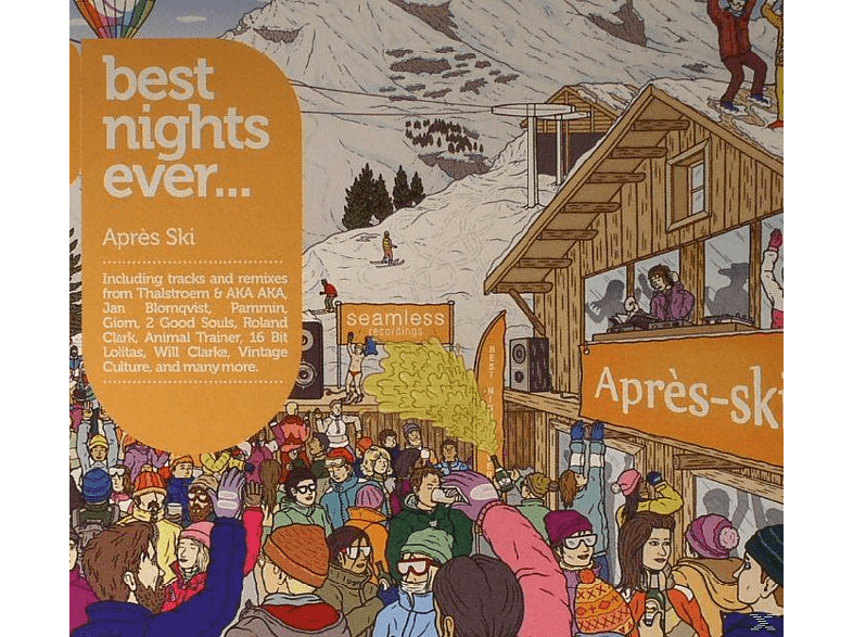 VARIOUS - Best Nights Ever-Apres Ski Party [CD]