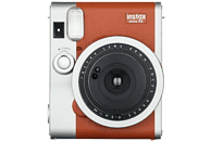 FUJIFILM Instax Mini 90 Neo Sofortbildkamera, Braun