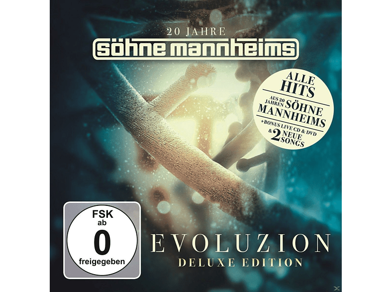 Söhne Mannheims - Evoluzion (Deluxe Edition)-B [CD + DVD Video]